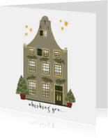 Kerstkaart Christmas Home