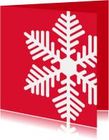 Kerstkaart CliniClowns Sneeuw