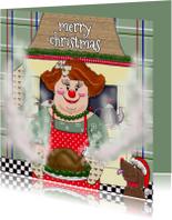 Kerstkaart met de CliniClowns