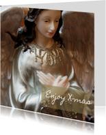 Kerstkaarten - Kerstkaart met een engel