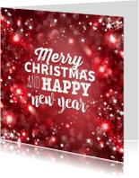 Kerstkaart zakelijk en vrolijk