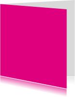 Kies je kleur fuchsia vierkante kaart