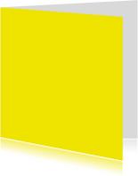 kies je kleur geel vierkante kaart