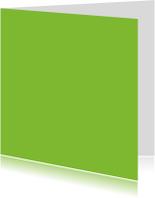 kies je kleur groen vierkante kaart