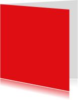 kies je kleur rood vierkante kaart