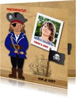 Kinderfeest piraat eigen foto