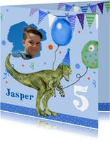 Kinderfeestje dinosaurus ballonnen
