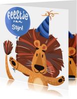 Kinderfeestje Leeuw