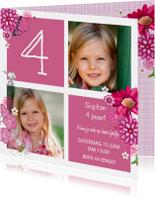 Kinderfeestje Meisje Blok Roze