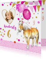 Kinderfeestje paardje ballonnen