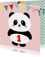 Kinderfeestje panda