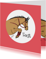 Kinderfeestje springend paard