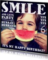 Kinderfeestjes - Kinderfeestje uitnodiging foto