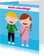 Kinderkaart 1e Schooldag