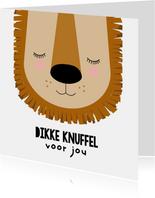 Kinderkaart - Een dikke knuffel