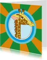 Kinderkaart giraf
