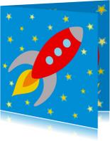 Kinderkaart Raket