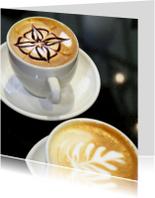 Kopje koffie - cappuccino - OT
