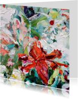 Kunst bloemen paletstukken vk