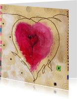 Kunstkaart a heart for everyone 1