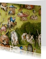 Kunstkaart van Jeroen Bosch. Tuin der Lusten (detail)