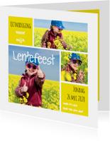Lentefeest collage geel OT
