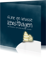 lets love - kerstkaart