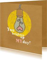 Liefde -Brighten up my day - MW