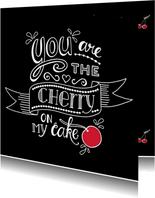 Liefde - cherry black
