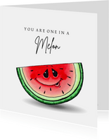 Liefde kaart You are one in a melon