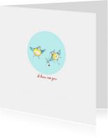 liefde kaarten vogeltjes