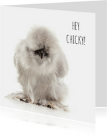 Liefdekaart - Hey Chicky