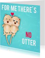 liefdeskaart no otter ME