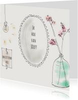 Liefdeskaart Spiegel