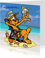 Loeki de Leeuw strand cocktail