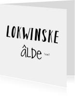 Lokwinske, alde taart!
