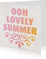 love summer zomer kaartje
