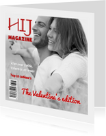 Magazine kaart voor mannen - DH