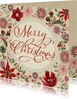 Merry Christmas Bloemen