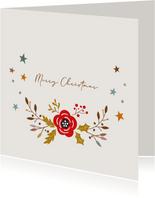 Merry Christmas - love christmas - kerstkaart