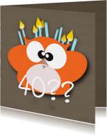 Mo Card leeftijd verjaardag kaart ouder