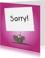Mo Card - Sorrykaart met een beetje humor