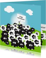 Verhuiskaarten - Mo Card Verhuiskaarten humor ik ga verhuizen