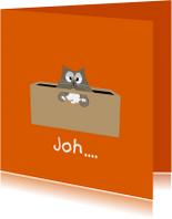 Succes kaarten - Mo Cards Succeskaart kat in bak