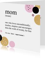 Moeder definitie