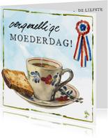 Moederdagkaart lang leve de boerderij Rien Poortvliet