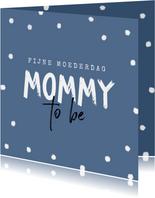 Mommy to be moederdag zwanger baby