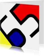 Uitnodigingen - Mondriaan 65 jaar