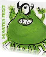 Monster kinderfeestje