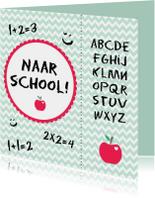 Naar school kaart - WW